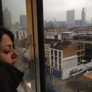 foto di profilo, sfondo città