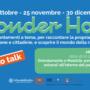 banner wonderhow call to talk, date dei prossimi incontri e descrizione dell'appuntamento del 28 ottobre