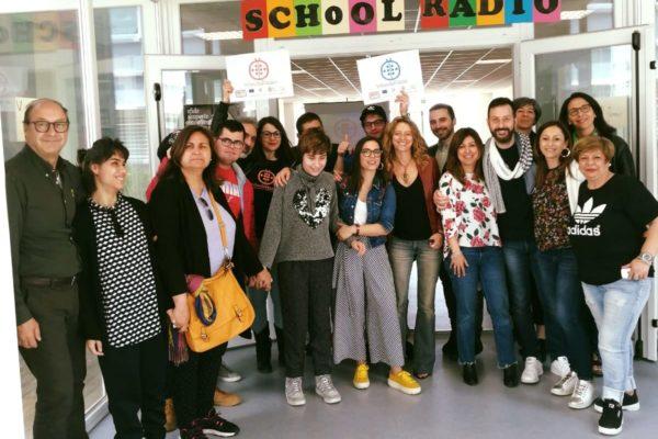 progetto school radio, foto di gruppo