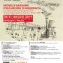 Locandina Michele Gargano Precursore di modernità 30- 31 maggio 2019